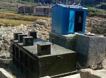 地埋式污水处理施工现成
