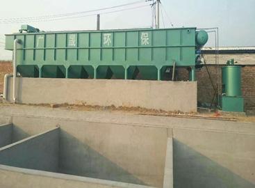 医院污水处理施工现场照片