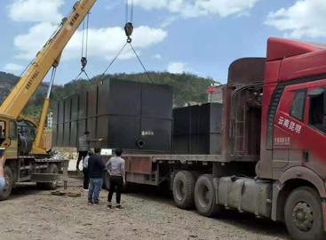 部分云南州县新农村污水处理工程项目案例