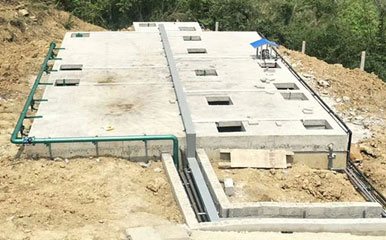 地埋式污水处理设备方案